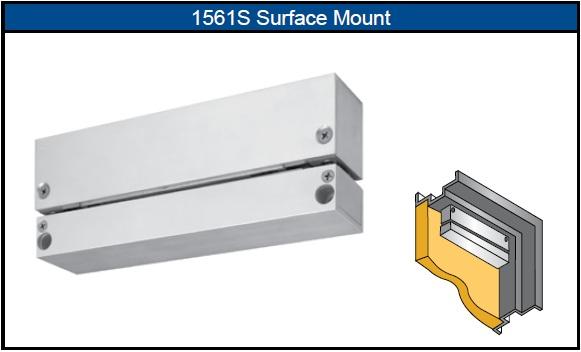 Sdc 1561s 1561tj Surface Mount Shear Lock 2 000lbs Maglocks