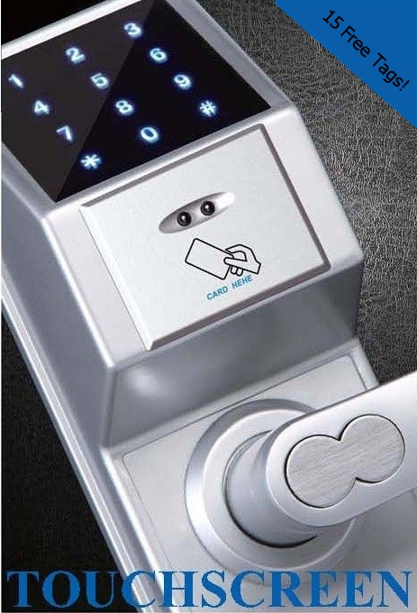 E307c Touchscreen Keypad And Card Lock By Elocksolutions