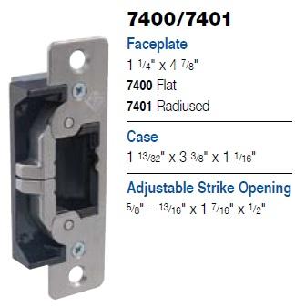 Adams Rite 7400 7401 Strike Aluminum Jambs Or Stiles Gr
