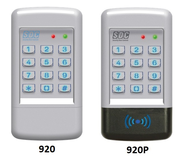 Sdc 920 Digital Keypad 500 Users Optional Prox Reader