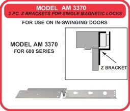 600wp, 600lb weather proof magnetic gate lock maglocks