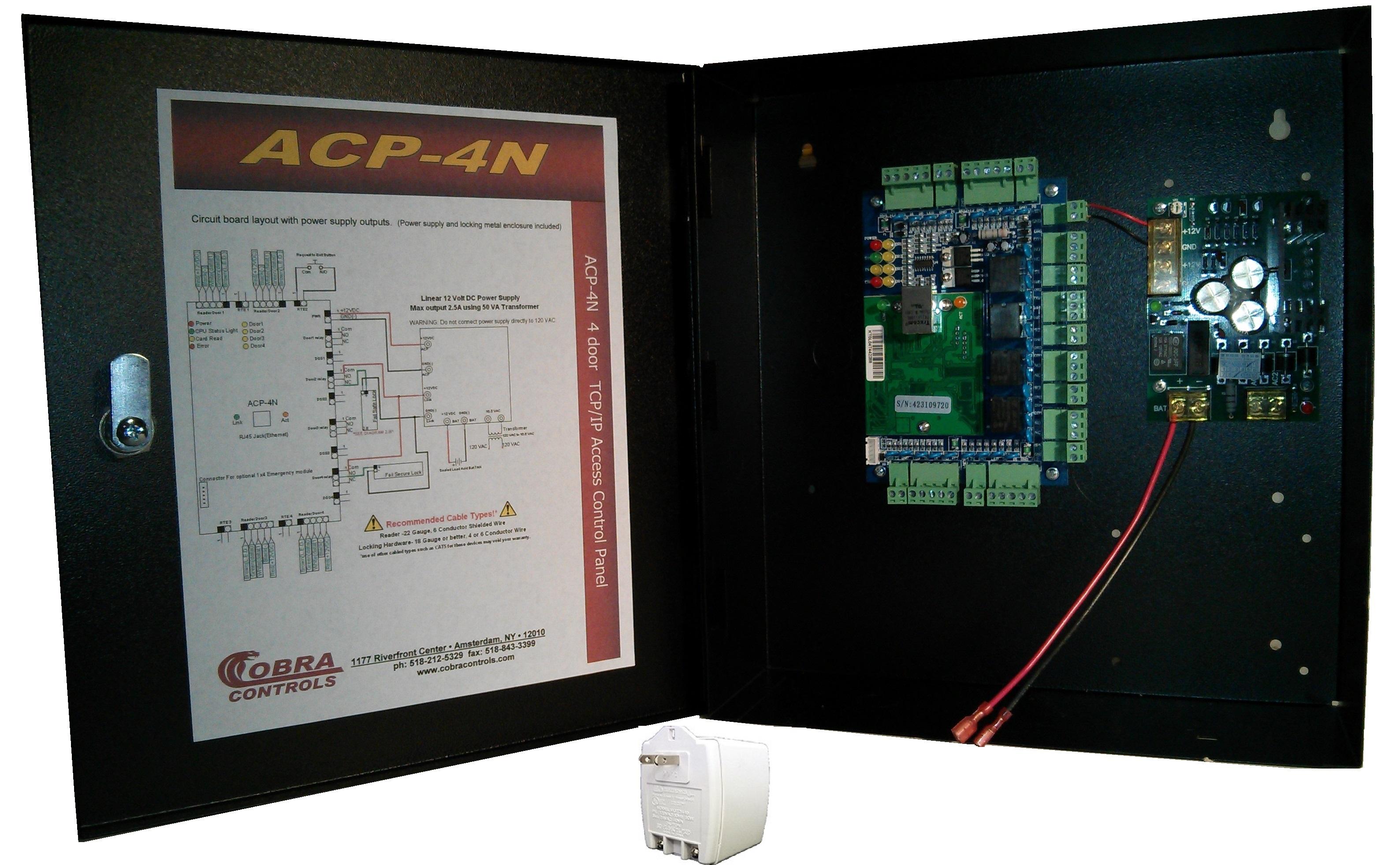 Cobra Controls Acp 4n Series Computerized Access