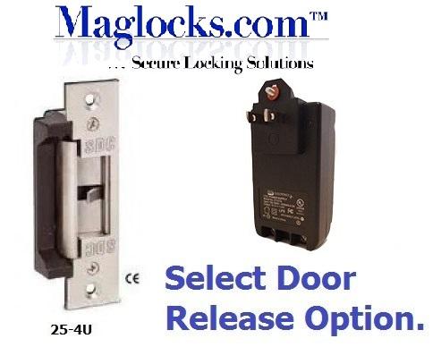 Single Door Remote Buzz In Kit Electric Strike Maglocks