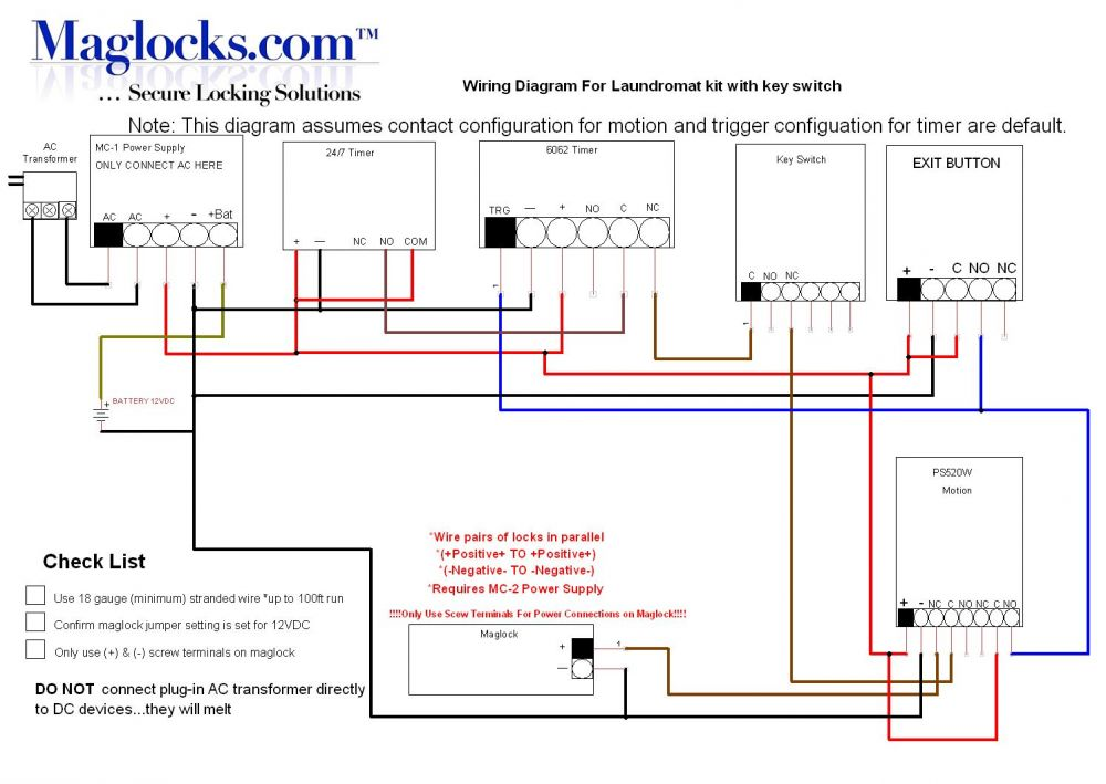 Request To Exit Motion Wiring Diagram