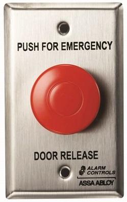 Ts 32 Emergency Door Release Latching Mushroom Pushbutton