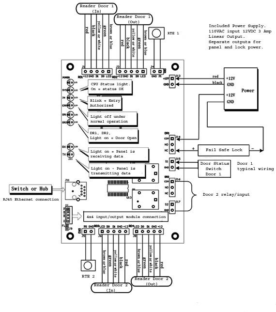 Door Maglock Wiring Diagram